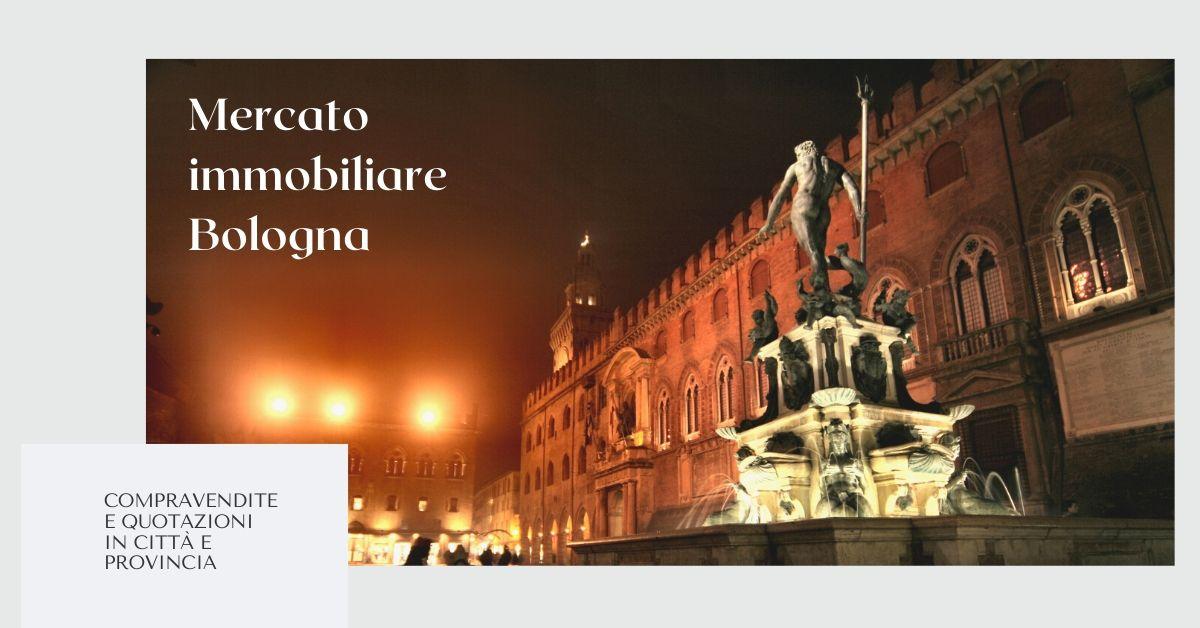 Mercato immobiliare Bologna: compravendite e quotazioni